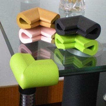 Tanzimarket - U Shape Thicken Safety Baby Table Corner Cushion Protectors - Beige Cesis SKUTM1131305 - Beige