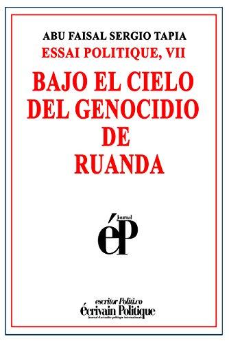 Amazon.com: BAJO EL CIELO DEL GENOCIDIO DE RUANDA: ESSAI ...