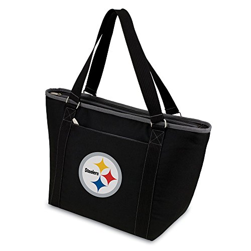 Best Birthday Gift NFL Pittsburgh Steelers Insulated Black Cooler Tote by Jewelry Brothers Gifts
