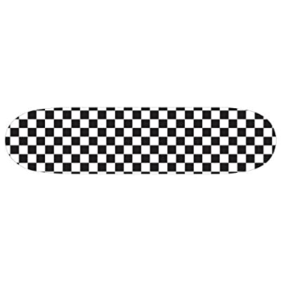 "Moose 8.0"" Checkered Skateboard Deck by Moose"
