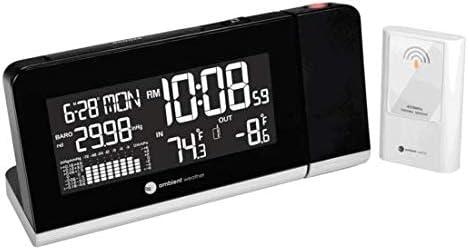 Amazon.com: Reloj proyector con estación ...