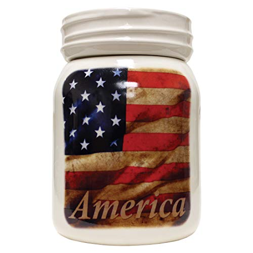 A Cheerful Giver A American Flag Tabletop Wax Melter, Multicolor
