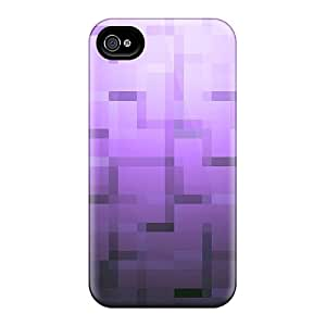 For FQX4368Yxze Purple Abstract Protective Case Cover Skin/iphone 4/4s Case Cover