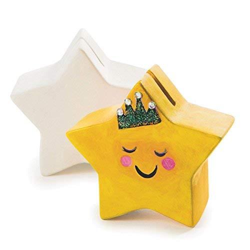 Ceramic Bisque Star Banks