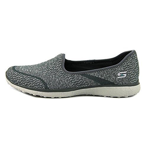 Skechers Microburst-All Mine Mujer US 9.5 Gris Zapatos de Agua