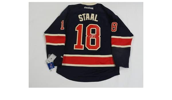 more photos 22044 7f364 MARC STAAL SIGNED NEW YORK RANGERS HERITAGE ANNIVERSARY ...