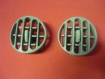 Renault Kangoo, Twingo - Rejilla de ventilación de aire gris/izquierdo y derecho: Amazon.es: Coche y moto