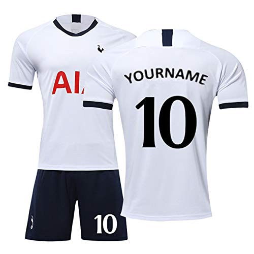 Personalized Football Team Jersey Shirt - Name and Number Printed on The Sportswear T-Shirts and Pants
