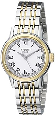 Tissot Women's T0852102201300 Carson Analog Display Swiss Quartz Two Tone Watch