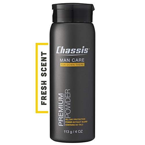 Chassis Premium Body Powder for Men, Original Fresh Scent