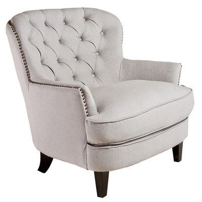 Charmant Best Selling Tufted Fabric Club Chair