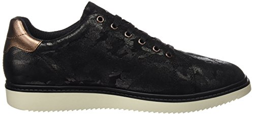 Adulto Unisex de Zapatos Negro J744FA00077 Cordones Black Geox nFTUqP7T