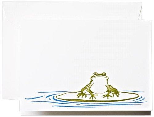 Crane & Co. Brushstroke Frog Note (CF1317)