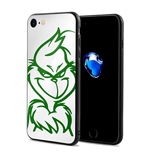 The Grinch Stole Christmas Anti-Scratch Shock Rubber Silicone Rugged Thin Cover Phone Case for iPhone 7/iPhone 8