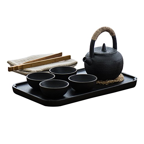 Japanese-style tea set,4 of cups,different texture,With exquisite gift box ... ()