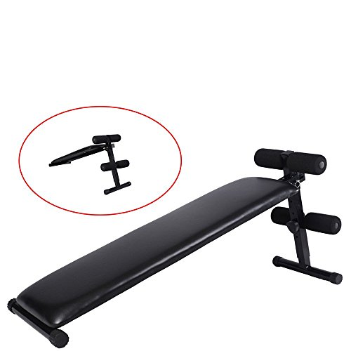 - Adjustable Decline Sit up Bench Crunch Board Slant Fitness Fit Home Gym Exercise Multifunctional Sit Up Benches