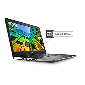 DELL Vostro 3581 15.6-inch HD Laptop (7th Gen Core i3-7020U/4GB/1TB HDD/Windows 10 + MS Office/Intel HD Graphics), Black