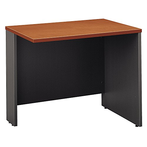 - Bush Business Furniture Series C Collection 36W Return Bridge in Auburn Maple