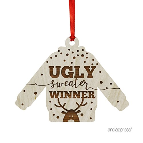 Ugly Sweater Winner Ornament