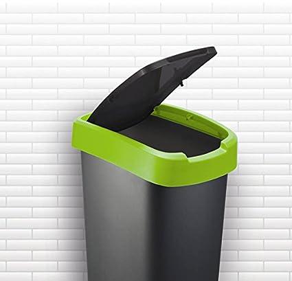 50 L Verde Rotho Cubo de Basura Polipropileno