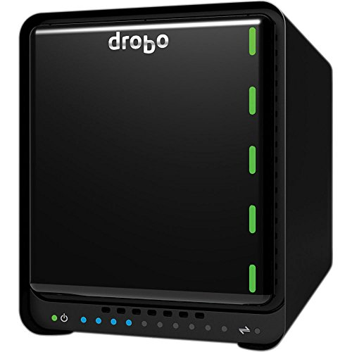 Drobo 5N2: Network Attached Storage (NAS) 5-Bay Array, 2X Gigabit Ethernet Ports (DRDS5A21) by Drobo (Image #6)