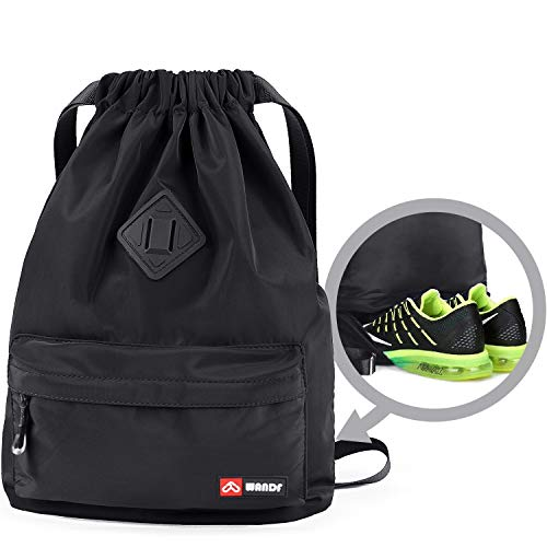 Drawstring Backpack String Bag