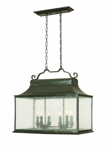 World Imports 9005-06 Dark Sky Rever Collection 6-Light Island Light, Flemish ()