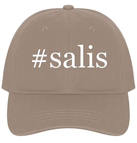 The Town Butler #salis - A Nice Comfortable Adjustable Hashtag Dad Hat Cap, Khaki