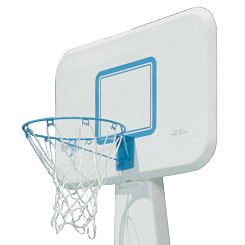 Dunnrite Poolsport Swimming Pool Basketball Hoop With 13 5 Inch Stainless Steel Rim All Weather
