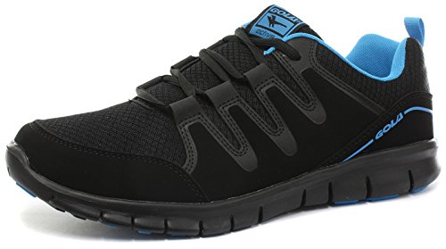 Gola Active Termas 2 Black Mens Fitness Sneakers, Size 14