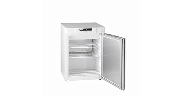 G F 210 LG 3 W (862120461) compacto bajo una mesa congelador, 125 ...