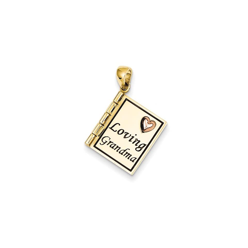 14ky & Rose Gold Loving Grandma, Best Quality Free Gift Box