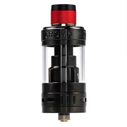 Uwell Crown 3 Clearomizer 5 ml, Durchmesser 25 mm, Riccardo Verdampfer für e-Zigarette, schwarz
