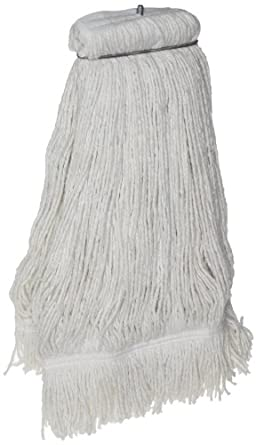 Zephyr Z-Ray 4-Ply Synthetic Screwflat Cut End Mop Head with Fantail (Pack of 12)