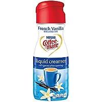 Coffee-mate Coffee Creamer Liquid, French Vanilla, 16 oz., 6 Count