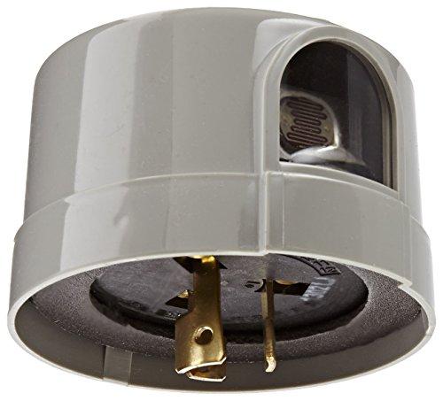 5000M Series Delayed Response Utility Grade Mov Surge Arrestor Photocontrol, 1800VA Ballast, 1/2'' Light Sensor, 1000W Power, 105-130VAC Voltage, Grey by Tork