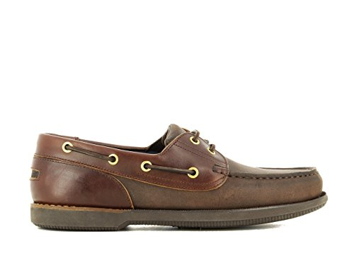 39 Hombre EU Cordones con Náuticos de Zapatos para Marrón Color xP6F0a8