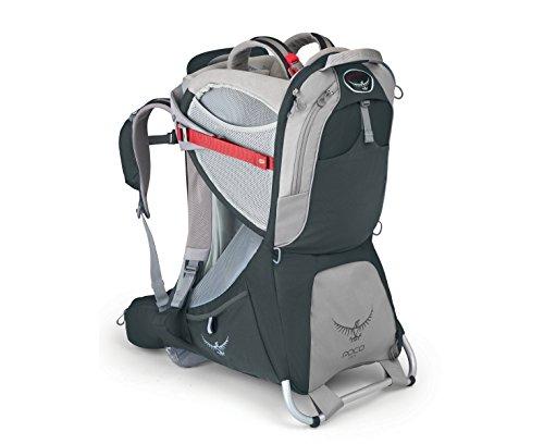 Osprey Packs Poco - Plus Child Carrier (Koala Grey, One Size)