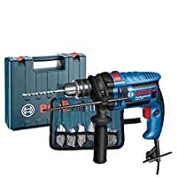 Bosch GSB 13 RE Professional Impact Drill with 100 Accessories, Multi Color