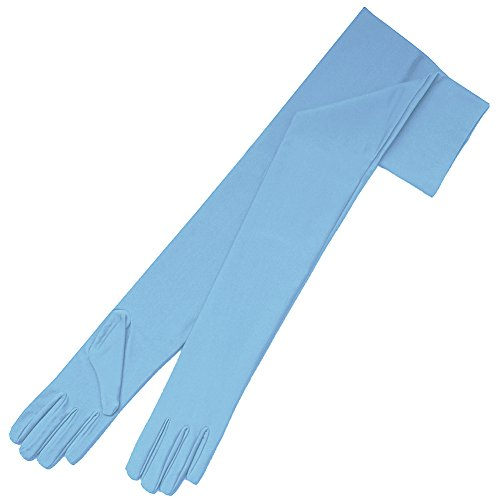 light blue gloves - 8
