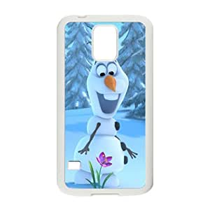 Frozen Olaf Cell Phone Case for Samsung Galaxy S5 BY RANDLE FRICK by heywan