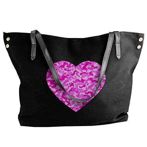 Pink Camo Love Women's Tote...