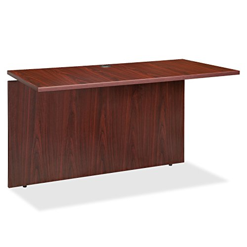 Lorell LLR68702 Executive Desk, Mahogany by Lorell
