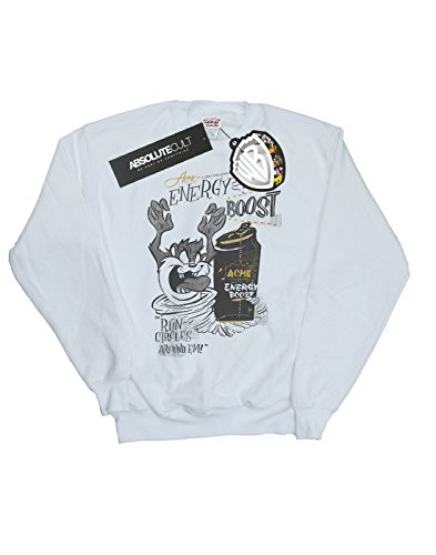 Boost De Energy Tunes Hombre Camisa Entrenamiento Looney Blanco Taz qnIwYC11