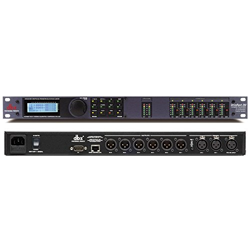 (dbx DriveRack 260 2x6 I/O Loudspeaker Management System (Crossover, Graphic EQ, Parametric EQ, Auto-EQ, and Limiter))