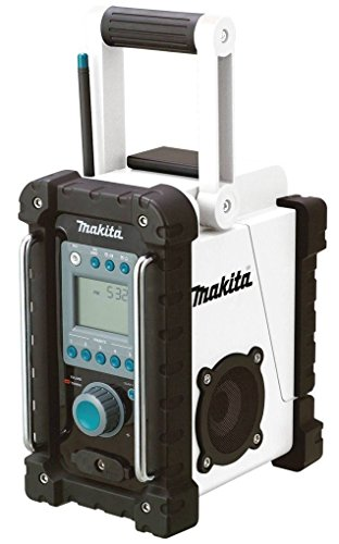 2 Pack Makita XRM02W 18 Volt Compact Lithium-Ion Cordless Job Site Radio (Tool Only) by Makita