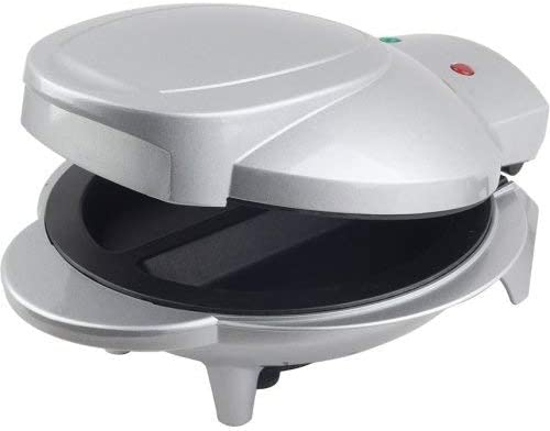 Amazon Com Brentwood Electric Omelet Maker Non Stick Silver Home Kitchen