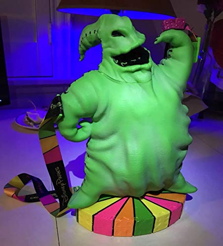 Oogie Boogie 2018 Disneyland Parks Nightmare Before Christmas Glow in The Dark Popcorn Bucket ()