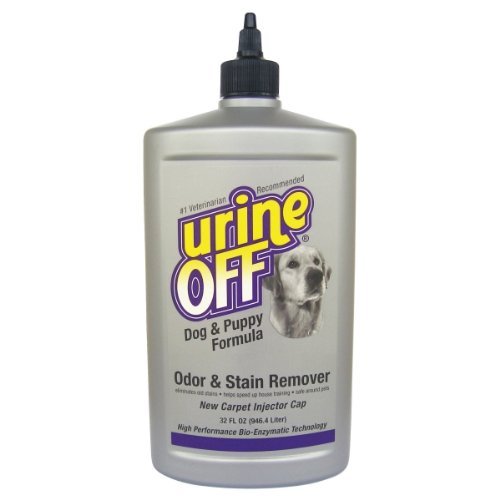 Urine Off Dog & Puppy Formula With Carpet Injector Cap 32 Oz