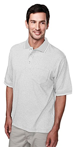 Tri-Mountain 60/40 Yarn Dye Pocketed Golf Shirt - 330 Prodigy Yarn Dye Pique Polo